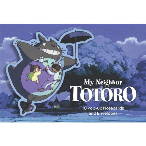 My Neighbour Totoro Pop Up Notecards - Arnolfini Bookshop