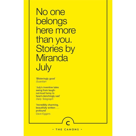No One Belongs Here More Than You - Miranda July - Arnolfini Bookshop