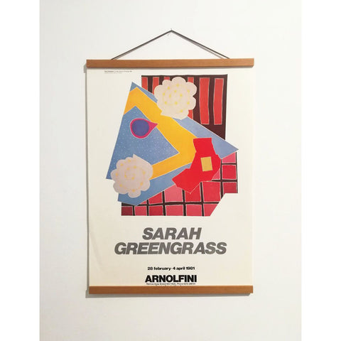 Sarah Greengrass Original Archive Poster - Arnolfini Bookshop