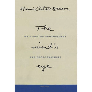The Mind's Eye - Henri Cartier-Bresson - Arnolfini Bookshop