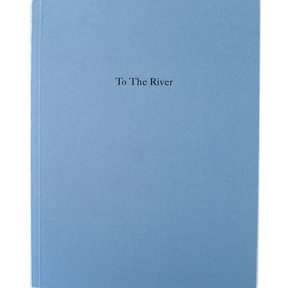 Sophy Rickett: To the River - Arnolfini Bookshop
