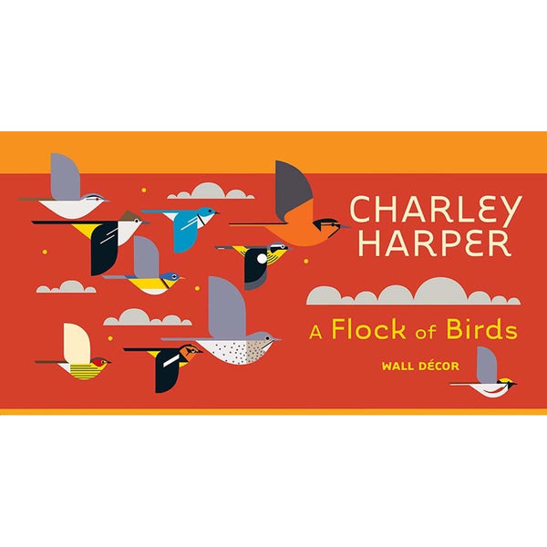 Charley Harper - Flock of Birds Wall Decor