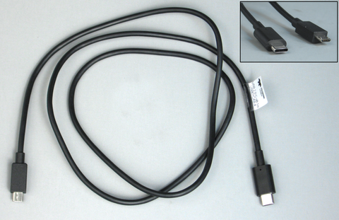 USB01CAB-X - Cable USB 2.0 C to Micro-B, 1m
