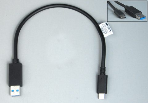 USB03CAB-X - Cable USB 3.1 C to Std-A, 0.3m