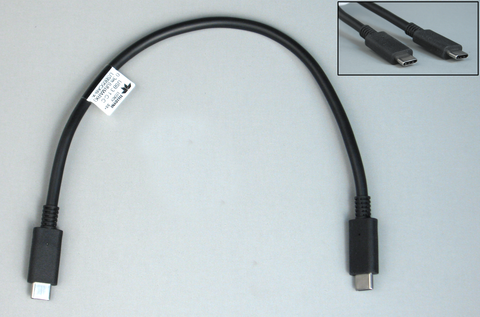 USB05CAB-X - Cable USB 3.1 C to C, 0.3m (UNMARKED)