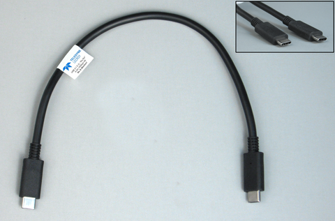USB16CAB-X - Cable USB3.1 Special un-Marked Ra Cable (Use in analyzer mode to avoid two E-Marked cables in the; link-under-test)