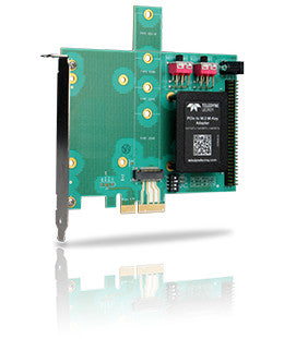 PE-M.2M-2-x4SLOT-X - Gen3 M.2 M-Key to x4 PCI Express Slot Socket Adapter, supports PCIe x1, x2 and x4 (socket 3)