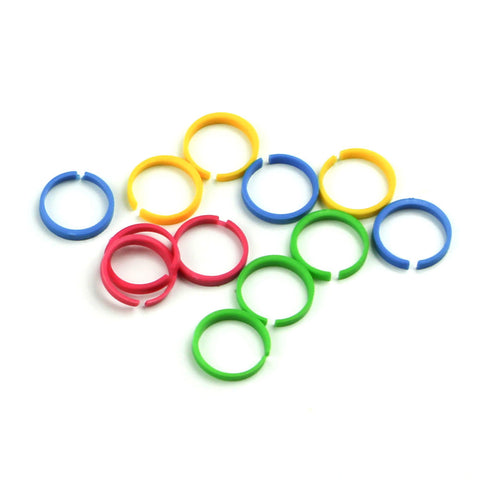 PK007-006 - Coding Rings (package of 8)