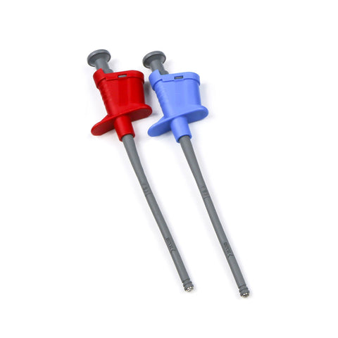 PK30X-4 - Banana Clamp Clips, 1-Red and 1-Blue