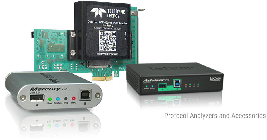 Protocol Analyzers and Accessories
