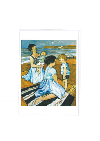 Greetings Card - Mothers & Children|Cerdyn Cyfarch - Mothers & Children