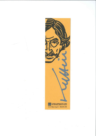 Bookmark - Sir Kyffin Williams - Self Portrait|Nod Tudalen - Kyffin Williams - Hunan Portread