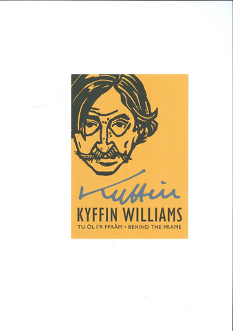 Postcard - Sir Kyffin Williams - Self Portrait|Cerdyn Post - Kyffin Williams - Hunan Portread