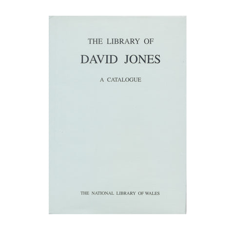 The Library of David Jones (1895-1974)