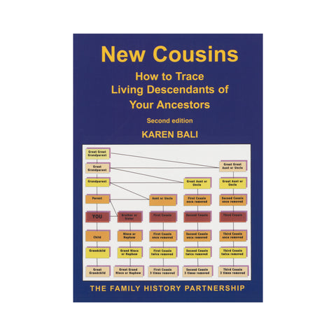 New Cousins - How to trace living descendants of your ancestors
