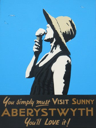 Ag Cain - Unmounted retro print - You simply must ....|Ag Cain - Print heb eu mowntio - You simply must ....