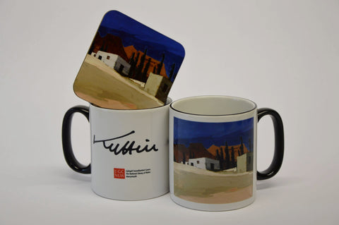 Buildings - Sir Kyffin Williams Mug|Adeiladau - Mwg Syr Kyffin Williams