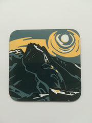 Eryri - Sir Kyffin Williams Coaster|Eryri - Mat Diod Syr Kyffin Williams