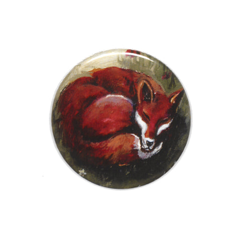 Lizzie Spikes - Pocket Mirror (Fox)|Lizzie Spikes - Drych Poced (Llwynog)