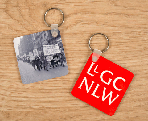 Keyring - Geoff Charles Collection - Cofio Dreweryn|Cylch Allweddi - Casgliad Geoff Charles - Cofio Dreweryn