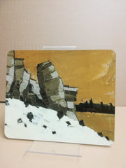 Lle Cul - Sir Kyffin Williams Place Mat|Lle Cul -Mat Bwrdd Syr Kyffin Williams