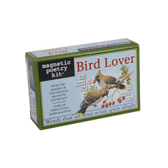 Magnetic Poetry Kit - Bird Lover|Cit barddoniaeth magnetig - Bird Lover