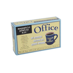 Magnetic Poetry Kit - Office|Cit barddoniaeth magnetig - Office