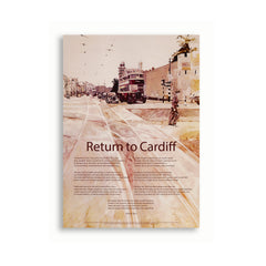 Return to Cardiff, Dannie Abse - Poster|Return to Cardiff, Dannie Abse - Poster