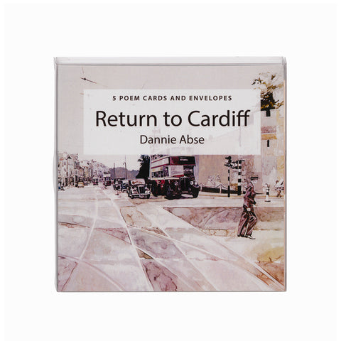 Poem Cards & Envelopes - Return to Cardiff|Cardiau Cerdd ac Amlenni - Return to Cardiff