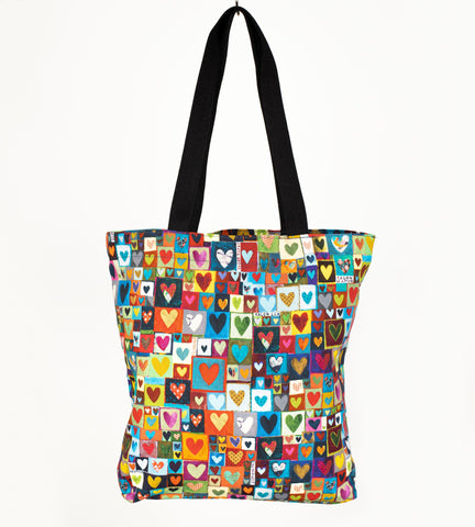 'Hearty' bag by Lizzie Spikes