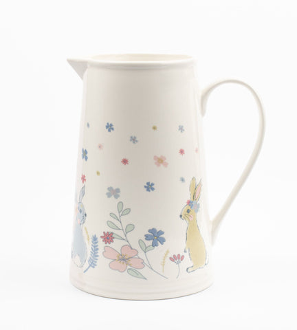 'Bunny and Flowers' jug