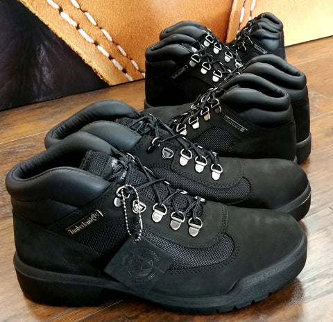 d3cf305cb18 TIMBERLAND BLACK SUEDE WATER PROOF FIELD BOOT - streeTgame