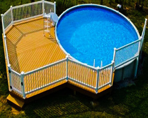 Above Ground Pools With Decks Cleaning And Tips