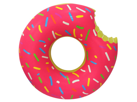 Inflatable Donut Pool Floats Yellow