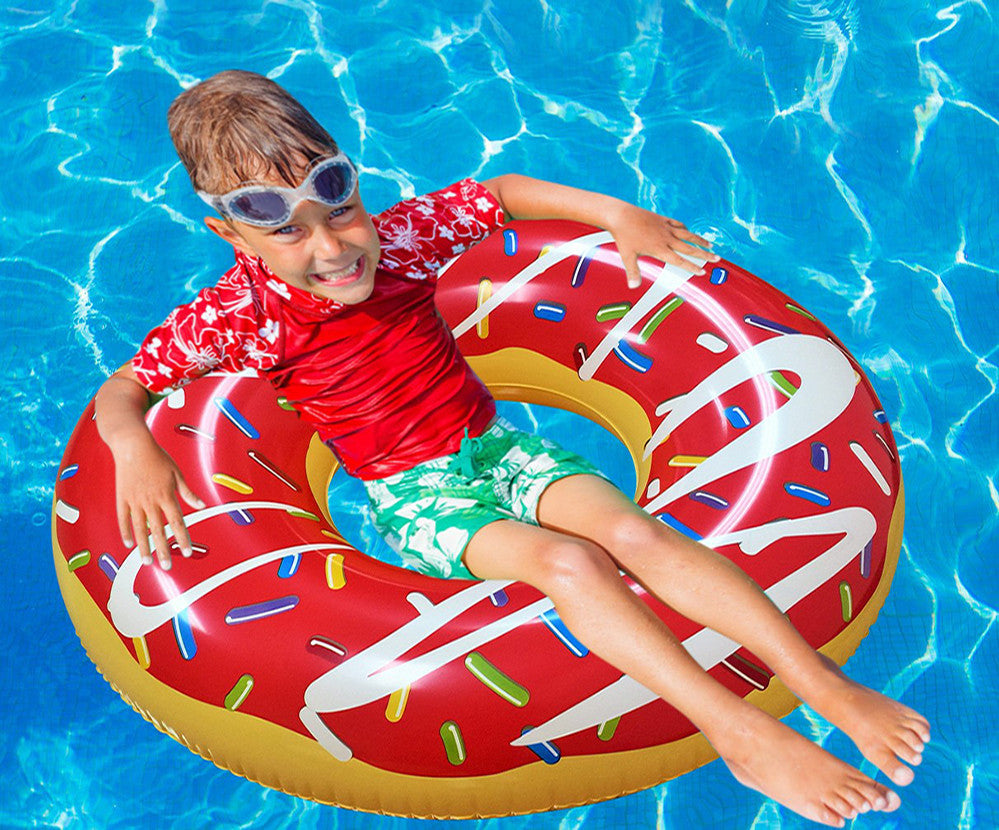 Giant Red Swimming Pool Float - RiffSpheres™ - 1