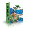 Inflatable Green Donut Pool Floats-4