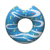 Inflatable Blue Donut Pool Floats-3