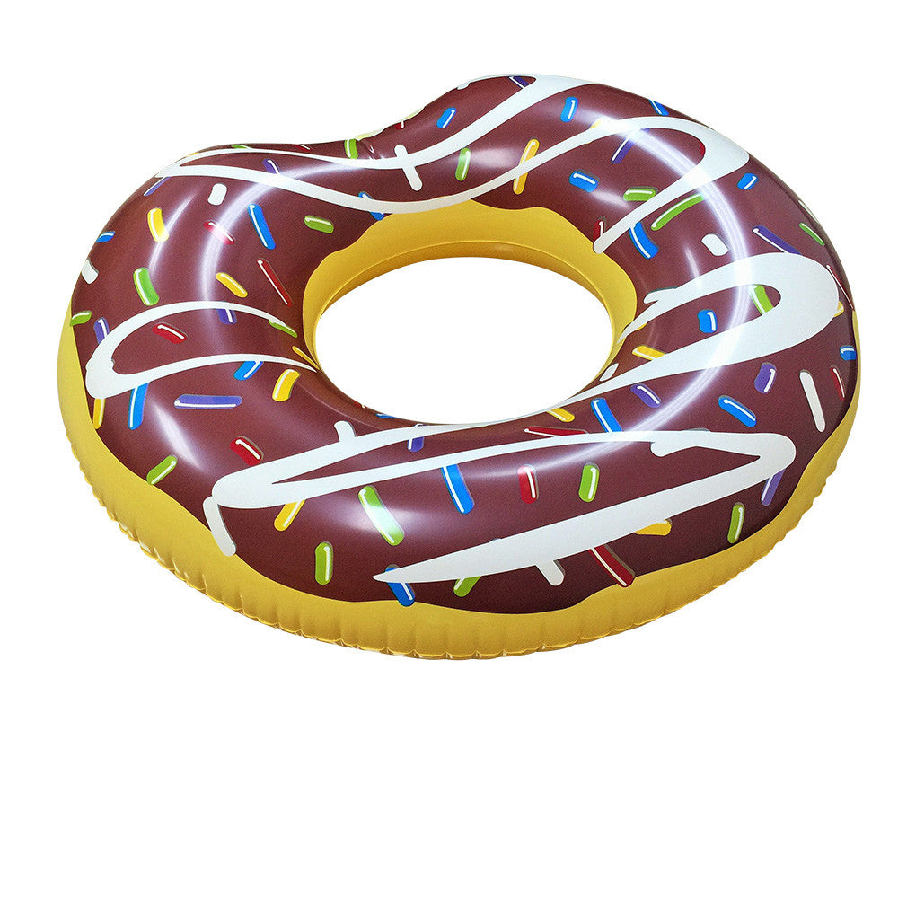 Donut Pool Float Chocolate