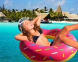 Inflatable Donut Pool Float - RiffSpheres™ - 1
