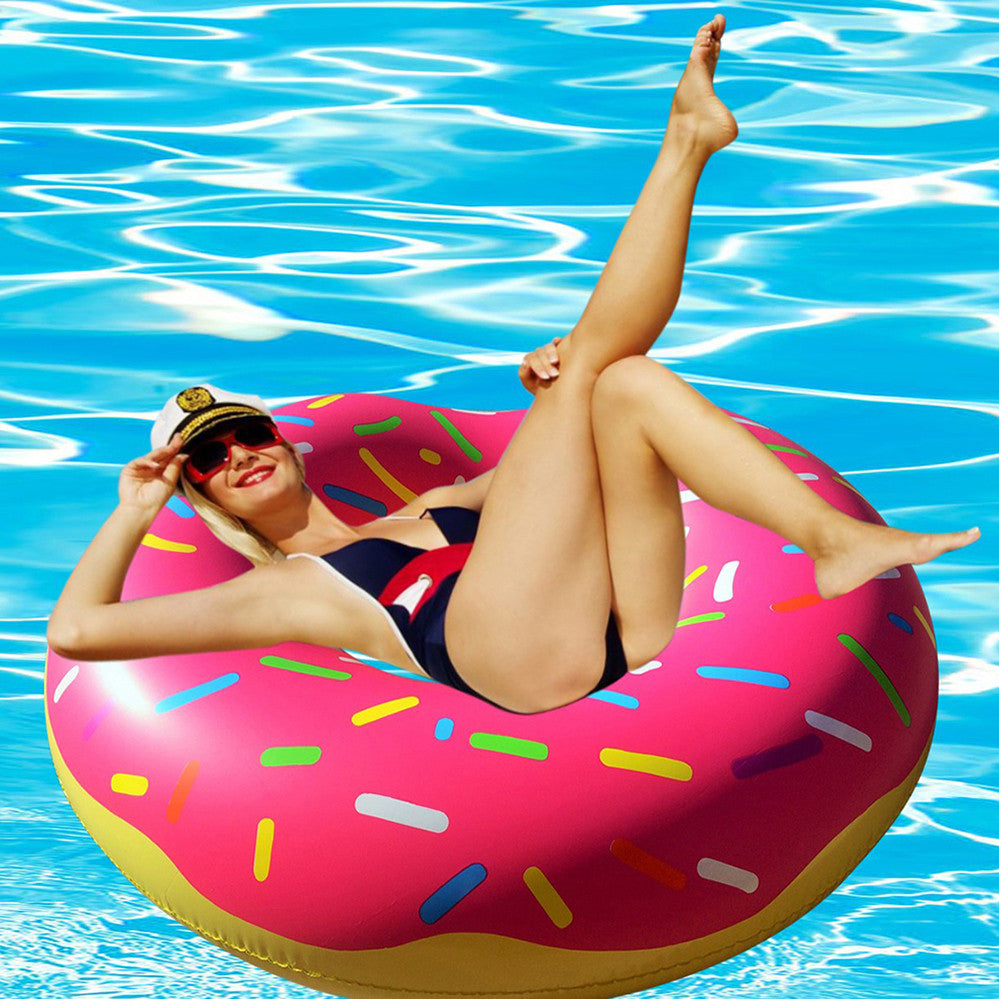 Giant Pink Donut Pool Floats - RiffSpheres™