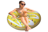 Inflatable Yellow Donut Pool Floats