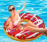 Giant Red Swimming Pool Float - RiffSpheres™ - 2