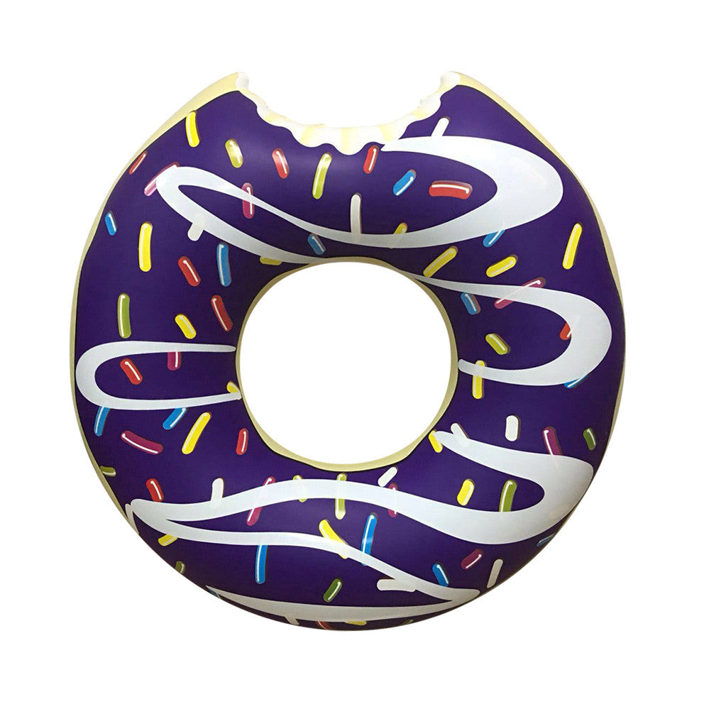 Inflatable Donut Pool Floats Purple-Riffspheres-3