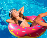 Giant Pink Donut Pool Floats - RiffSpheres™ - 3