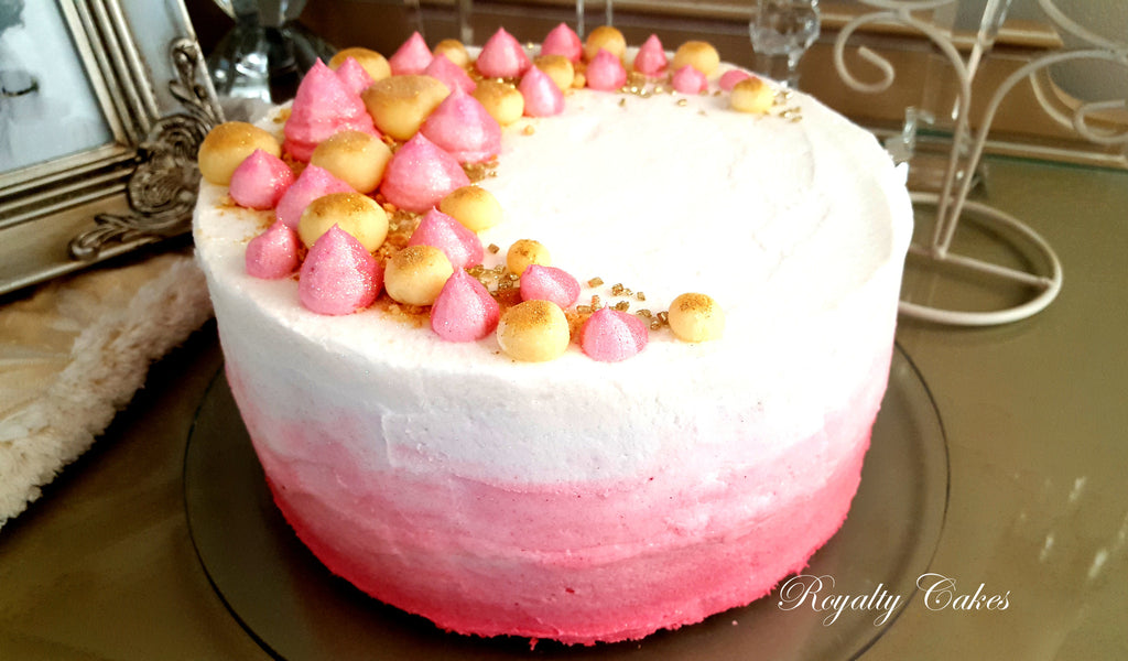 Pink Champagne Cheese Cake