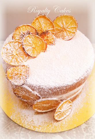 Orange Syrup Naked Cake