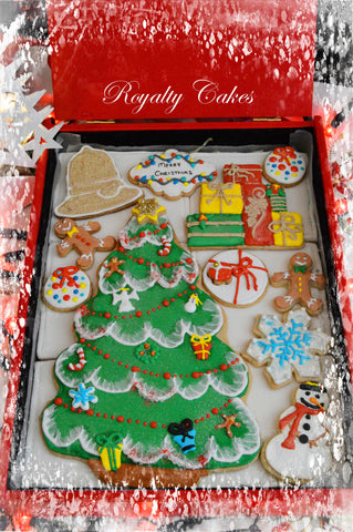 Xmas: Christmas Tree Biscuits