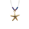 Rainbow Starfish Cord Necklace