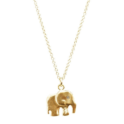 Elephant Necklace with Diamond ,Elephant Necklace with Diamond, Sale, Chibi Jewels, Chibi Jewels - Chibi Jewels