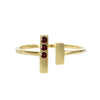 Gemstone Chime Ring